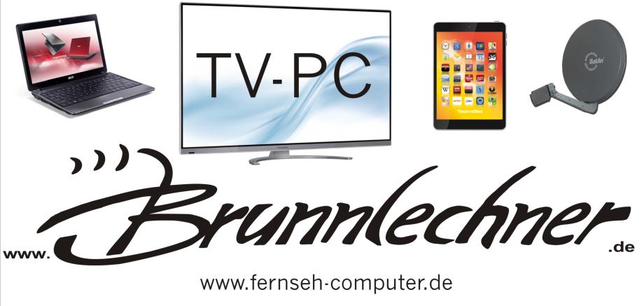 Fernsehgeräte + Computer = Brunnlechner